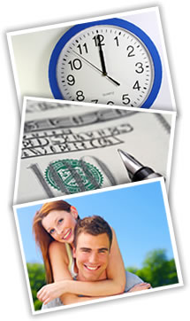 Save time with instant approval cash advance products!